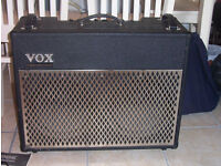 VOX VALVETRONIX AD100VT 2 x 12 MODELLING AMP WITH FOOTSWITCH