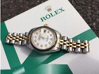 18ct Rolex Datejust 26mm - £1800 - NOT AUDIMARS - OMEGA - CARTIER