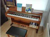 YAMAHA CLP230 Clavinova (with stool) - Electric/Digital Piano, Full Size Keyboard, Weighted Keys