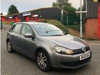 VOLKSWAGEN GOLF S TDI 2.0 DIESEL 2010 GENUINE MILEAGE DRIVE AWAY TODAY PART EX SWAP