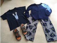 Big bundle of boys clothes age 6-7 Next, Billabong STILL AVAILABLE 21-09-17