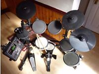 Roland TD-8 electronic drum set plus upgrades, PC/Mac connection. Delivery within North London