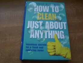 3 Readers Digest books on cleaning and fixing