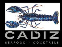 Chef de Partie required for Cadiz - Seafood Restaurant in Edinburgh George Street