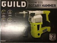 Guild 1000W Sds Plus Rotary Hammer Drill.