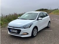 2015 Hyundai i20 S Blue Drive MPi 5dr White. Low Mileage. Clean Thoughout.