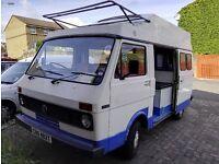 Vw LT campervan * Retro 1979 * Reduced Price *