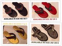 Ladies Coloured Sandals Brand New