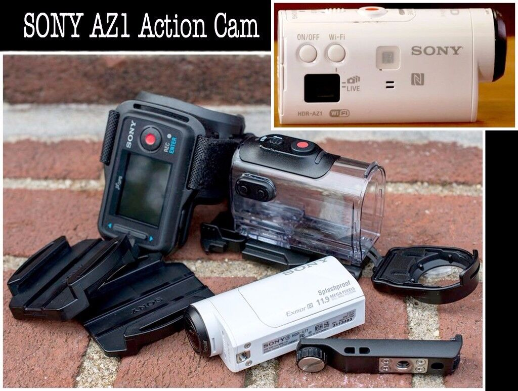 Action Camera Sony AZ1 .