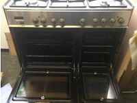 range cooker oven LPG and electric oven
