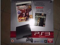 Playstation 3 and 19 games