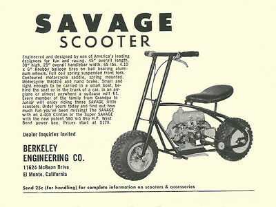 Parts & Accessories - Vintage Mini Bike