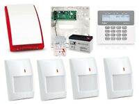 Used, Intruder alarm system, burglar alarm system. Wired or wireless intruder alarm system. Burglar alarm for sale  Bedfordshire