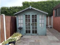 garden summer house 8 ft x 6 ft