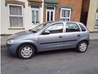 Vauxhall corsa 1.2 petrol 2003. Very good condition with low miles age. Automatic and semi automatic