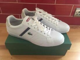 Lacoste Trainers. Men's Size 12