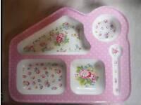 Kath Kidston Baby plate