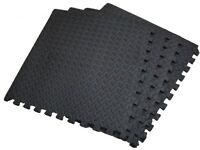 Floor Mats Pack of 4 Interlocking Gym Mat 16SqFt or 1.48 Sq Mts