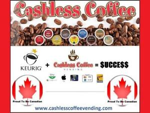 """LOCAL K-CUP """"Single-Serve"""" Business Opportunity: Practically Runs Itself."""