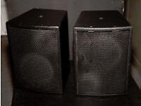 Adlib Audio AA61 high output, full-range compact loudspeakers (PAIR)