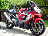 Honda FireBlade 929cc 2002 18,500miles 12 months M.o.T.