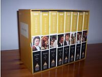 ORIGINAL BBC POLDARK BOXED SET VHS TAPES (8) - BRAND NEW