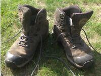 Brasher goretex Trail / Walking boots, size 10 UK