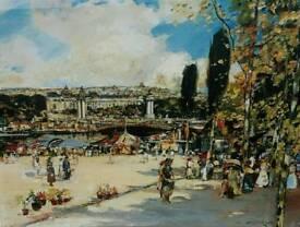 Seine Pont Alexandre Paris France