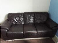 Free Sofa leather 3 seats