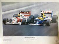 Limited Edition Print Senna & Hill