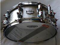 Abb aluminium snare drum. New