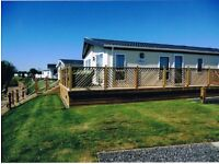 Static Moblie Home burnham-on-sea holiday village with private gates and own fishing lake