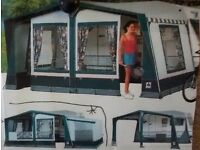 Awning- Windsor Dorema with annexe size 11