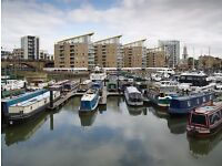 Residential mooring in Limehouse basin