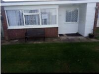 2 bed chalet at sundowner holiday park Newport Hemsby.