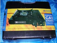 CAMPING STOVE + 4 GAS - NEW & SEALED - NO OFFERS