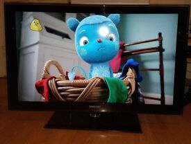 """Samsung 40"""" Full HD 1080p Freeview LCD TV. Model number LE40C580J1K"""