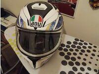 AGV K-3 Helmet: Size SMALL