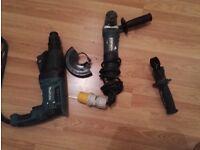 Angle Grinder 5030 and Rotary Hammer Drill 2610 - MAKITA
