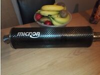Micron carbon oval can