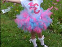 hand made birtday body and tutu skirts,