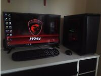 "Pro Gaming PC GTX BLACK TITAN / 16GB /I5 4670K / 250GB SDD / 32"" LED LG/1k no offers"