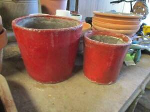 Plant pots x 2 Windsor Hawkesbury Area Preview