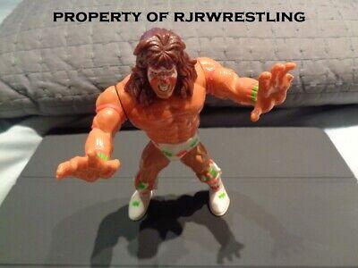 VINTAGE WWF HASBRO THE ULTIMATE WARRIOR SERIES #2 ACTION FIGURE LOOSE WWE BROKEN