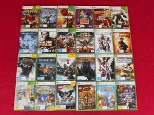 ★XBox 360 Any 5 Games for $30 (1 Game for $10) Logan Village Logan Area Preview