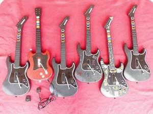 ★PlayStation 2 PS2 Guitar Hero Guitars Bundle Logan Village Logan Area Preview