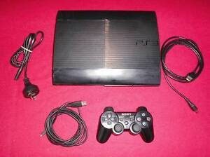 ★PlayStation 3 PS3 500GB Console, Control & 5 Games (from 100+) Logan Village Logan Area Preview