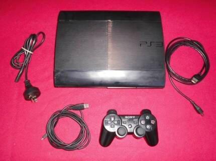 ★PlayStation 3 PS3 Super Slim Console & Any 1 Game (from 100+)