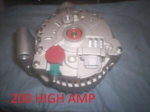 NEW Ford Mustang 200 High Amp HD Alternator 4.0L 2005-2006 2007 2008 Generator
