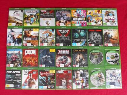 ★XBox One Games from $15 each (Kinects/Headsets/Mics/Cables)